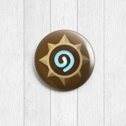 Значок круглый Heartstone