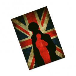 Обложка на паспорт Шерлок