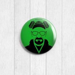 Значок круглый Heisenberg