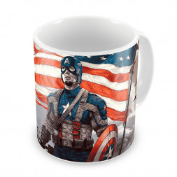 Кружка Капитан Америка #2