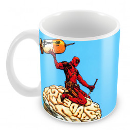 "Кружка ""Deadpool brain"""