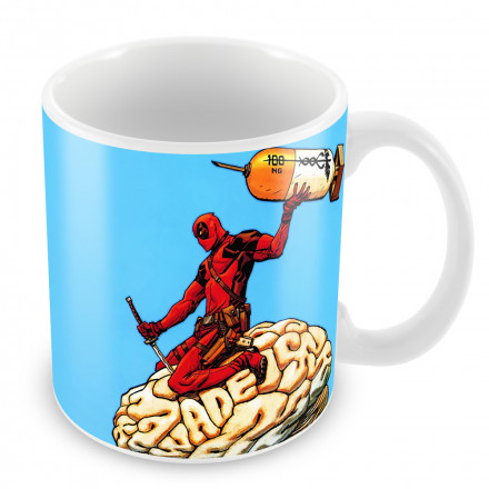 "Кружка ""Deadpool brain"""