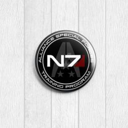 Значок круглый N7
