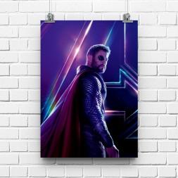 Постер Мстители Тор