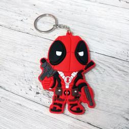 Брелок силиконовый Deadpool #1