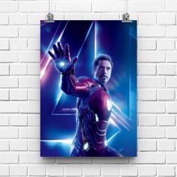 Постер Мстители Железный человек