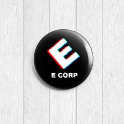 Значок круглый E-corp