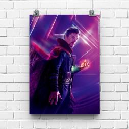 Постер Мстители Доктор Стрэндж