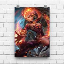 Постер DOTA2 Lina
