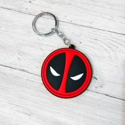 Брелок силиконовый Deadpool #2