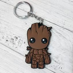 Брелок силиконовый Groot #2