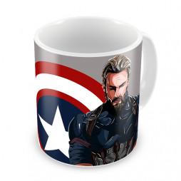 Кружка Капитан Америка #3
