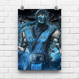 Постер Mortal Combat Subzero