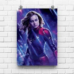 Постер Мстители Капитан Марвел