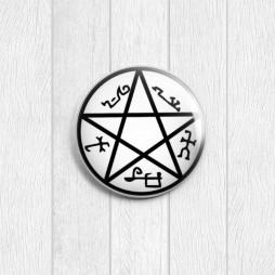 Значок круглый Ловушка для демона