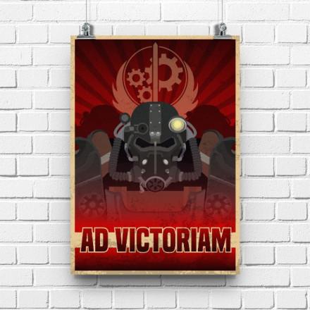 Постер Fallout AD VICTORIAM