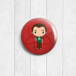 Значок круглый Sheldon
