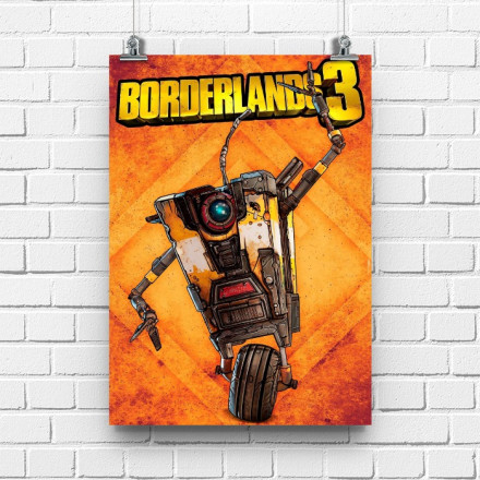 Постер Borderlands Clap Trap