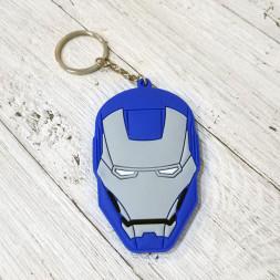 Брелок силиконовый Iron Patriot