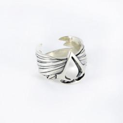 Кольцо Ассасина серебро 925