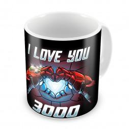 Кружка I love you 3000