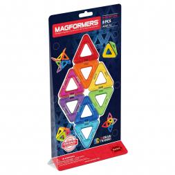 Магнитный конструктор MAGFORMERS Треугольники 8 деталей