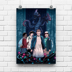 Постер Stranger Things #1