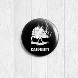 Значок круглый Call of Duty