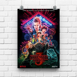 Постер Stranger Things #3