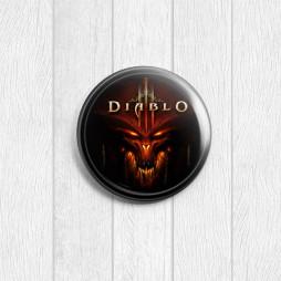 Значок круглый Diablo