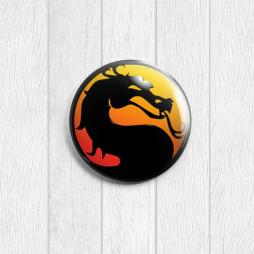 Значок круглый Mortal Kombat