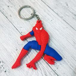 Брелок силиконовый Spiderman