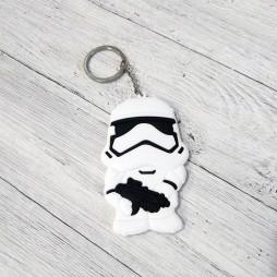 Брелок силиконовый Stormtrooper #2