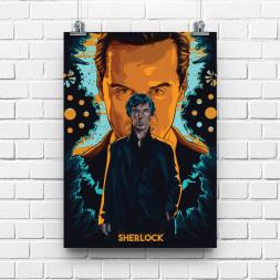 Постер Шерлок и Мориарти