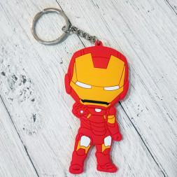 Брелок силиконовый Iron Man #1
