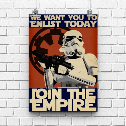 Постер Join the Empire