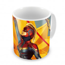 Кружка Captain Marvel Retro