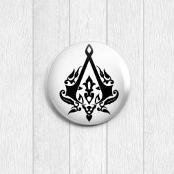 Значок круглый Assassins Creed