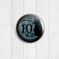 Значок 10-й Доктор круглый
