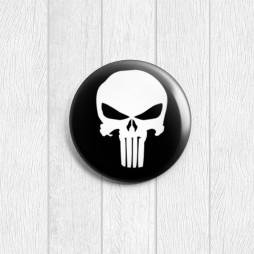 Значок круглый Punisher