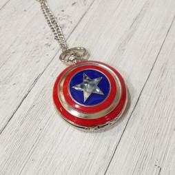 Карманные часы Капитан Америка