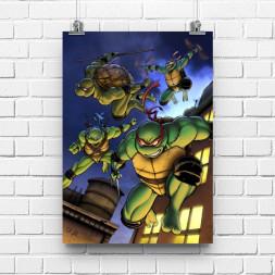 Постер Черепашки ниндзя #2