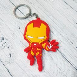 Брелок силиконовый Iron Man #3