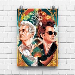 Постер Благие знамения