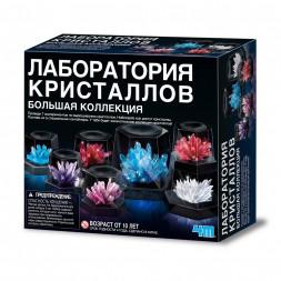 Набор для опытов 4M Лаборатория кристаллов. Большая коллекция