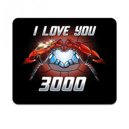 Коврик для мыши I love you 3000