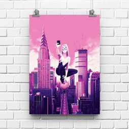 Постер Spider Gwen #2