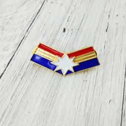 Значок Капитан Марвел