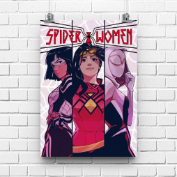 Постер Spiderwomen