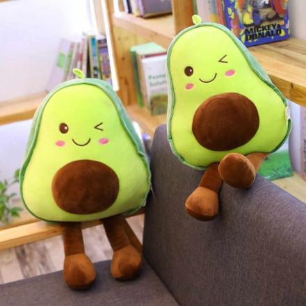 Мягкая игрушка Авокадо с ножками